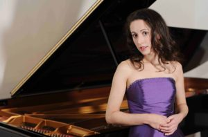 Maria Marchant - Pianist - Photographed at Steinway Hall, Marylebone Lane, London